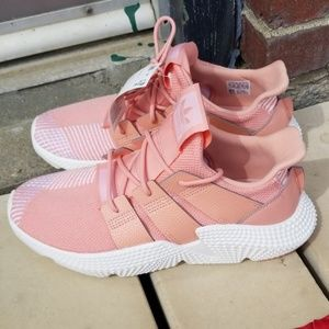 Adidas pink Prophere J sneakers size 7 NWT